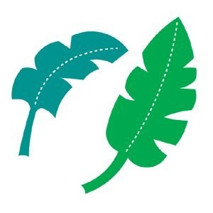 AccuCut Zip'e Slim Stanzform MEDIUM Blätter / Jungle Leaves 41430
