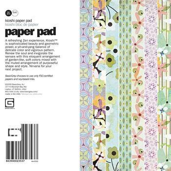 Paper Pad KIOSHI 15,2 cm x 15,2 cm KIO-2353