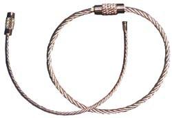 Kabelring silber 5 cm 12558