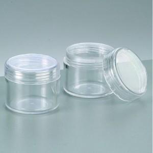 Plastik-Döschen rund Durchmesser 3,9 cm x Höhe 3,3 cm 2243304