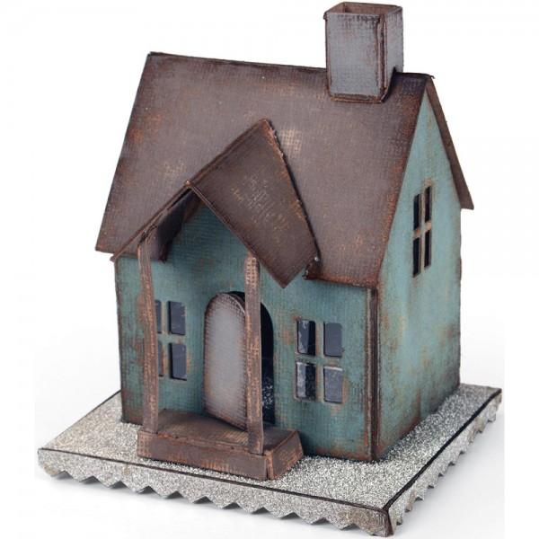 Sizzix BIGZ XL Stanzform Vintage Haus / Vintage Village 660992