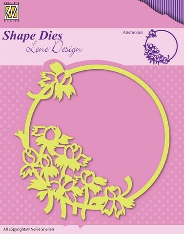 Nellie Stanzform Frühlingsblumen Anemonen SDL015