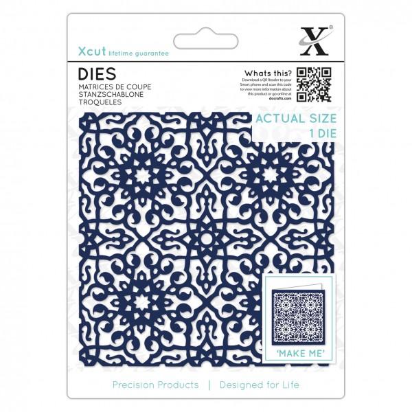 XCut Stanzform Moroccan Tile XCU 504091