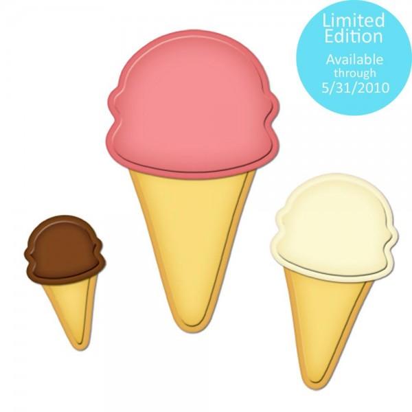 Nested Ice Cream Cones S4-275 LIMITIERT