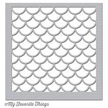 18,5/x 13,8/x 0,1/cm Kunststoff Elizabeth Craft Designs Schmetterlinge und Sterne Schablone