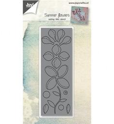 Joycrafts Stanzform Blumen mit Faltlinien / Summer Flowers 6002/0951