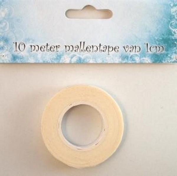 Nellie Choice Schablonenband creme / Mallentape / Stencil-Tape Breite 1 cm 09.03.11.006