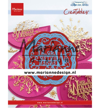 Marianne D Stanzform Creatables Anja' s Winter Wensen LR0619