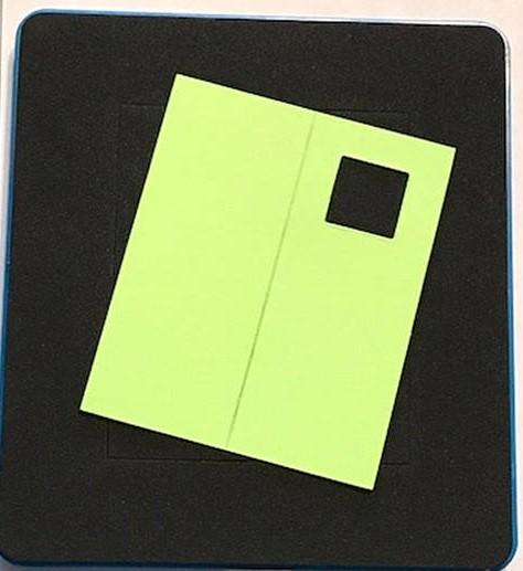Ellison Design Thick Cuts Stanzform Karte rechteckig mit Fenster 22144