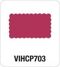 Motivstanzer Giant Rechteck gewellt VIHCP703 ( rosa )