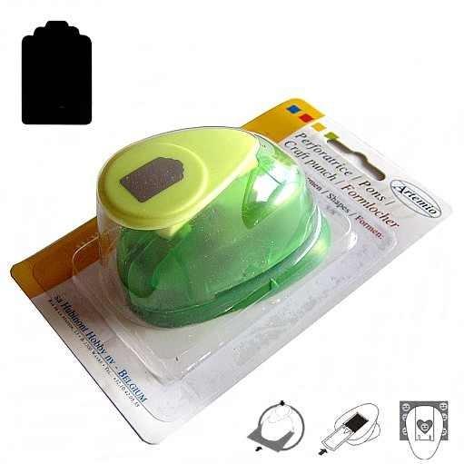 Motivstanzer klein Anhänger / price tag VIHCP101 ( grün )