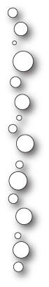 Memorybox Stanzform Kreise-Border / Dibble Dot Border 99776
