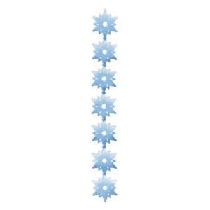 Border Schneeflocken / snowflakes 656 289
