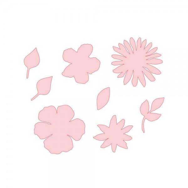 Richard Garay Steel Rule Stanzform Blumen / Watercolor Blooms MASR-001