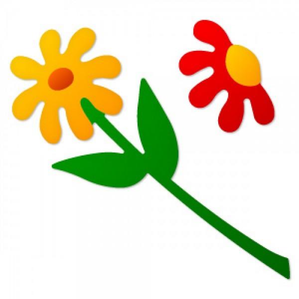 Sizzix Stanzform Originals LARGE Gänseblümchen mit Stil # 3 / flower daisy # 3 38-0928 / 654632