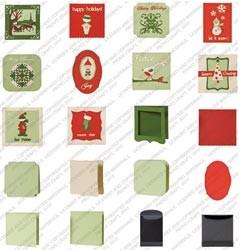 Cricut Cartridge Solutions Christmas Cards 2000535