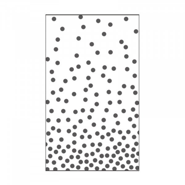 Vaessen Creative Prägefolder Punkte / Dots 1 7,6 cm x 12,7 cm 100604-112