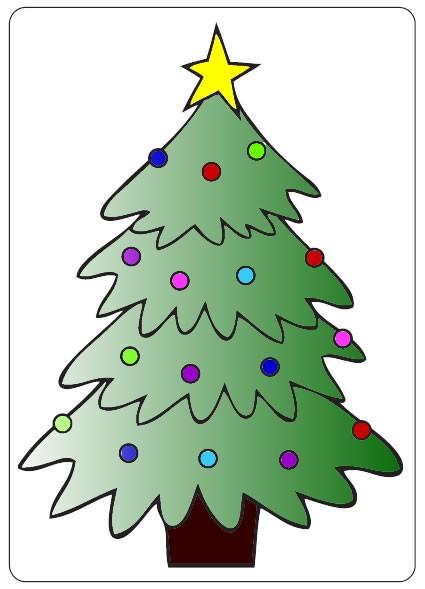 Prägefolder exclusiv Weihnachtsbaum CTFD3001