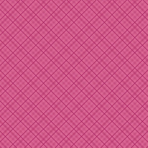 "Core'dinations Core Basics Cardstock 12 "" x 12 "" DUNKEL-ROSA Plaid / Dark Pink Plaid GX-2300-58"