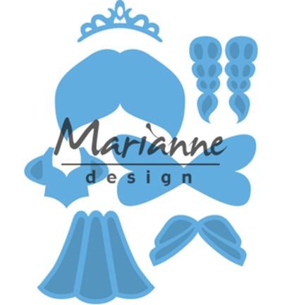 Marianne D Stanz-u. Prägeform Prinzessin LR0529