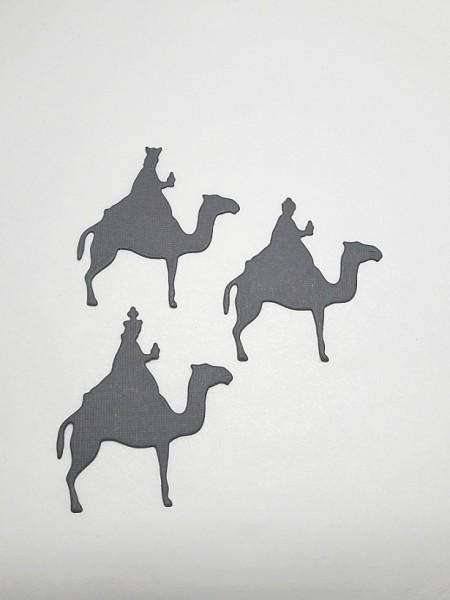 creative-depot Stanzform Drei Könige auf Kamel CD-Di-072