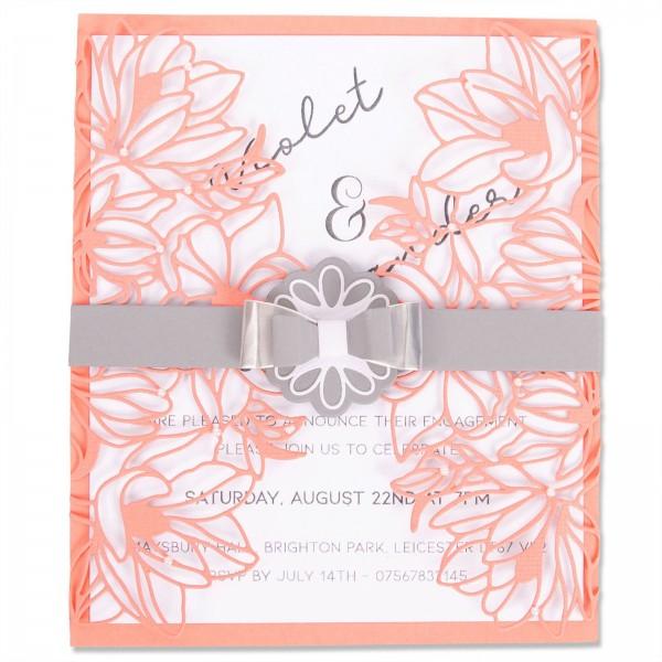 Sizzix Stanzform Thinlits Floral Wrap 663692