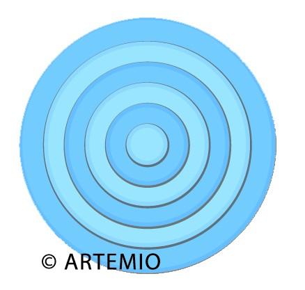 Artemio Happycut Stanz-u.Prägeformen Kreise 18043007