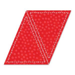 """Stanzform Go ! Dreiecke 12,7 x 16,5 x 16,5 cm (5 """"x 6 """") 55016"""