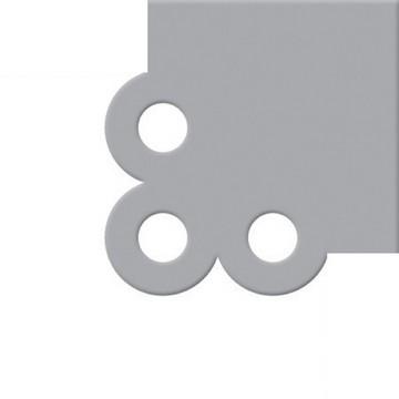Crop-A-Dile III Cutting Plates Scallop Corner 71034-9
