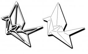 Frantic Stampers Stanzform Origami-Kranich / Origami Cranes FRA-DIE-10065