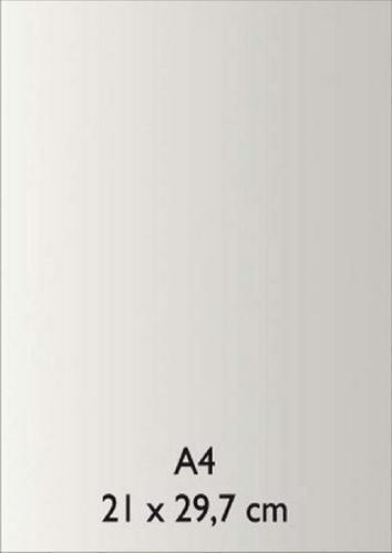 Pearl Papier A 4 WEISS mit Klebefolie 18811070
