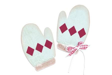 Sizzix Stanzform BIGZ Handschuhe / mittens 657053