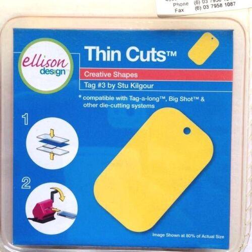 Ellison Design Thin Cuts Stanzform Anhänger # 3 / tag # 3 22229