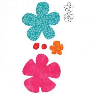 Stanzform Go ! Funky Flowers 55042