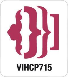 Motivstanzer Giant Klammern VIHCP715 ( rosa )