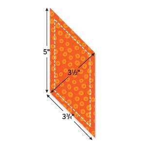 Stanzform Go !Parallelogramm 9,5 cm x 8,9 cm 55004
