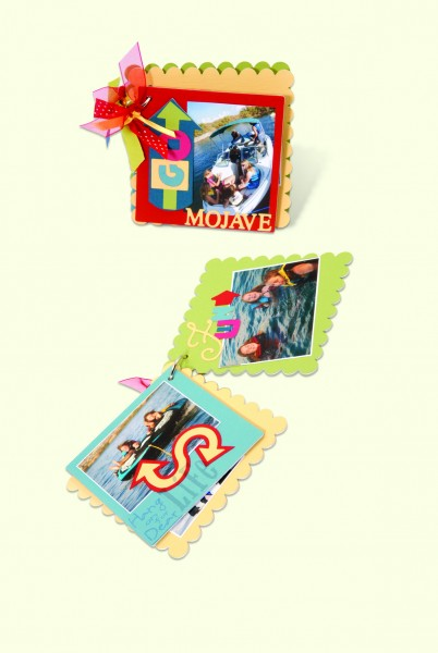 Sizzix Stanzform BIGZ XL Album Rechteck gewellt / album scallop rectangle 656055