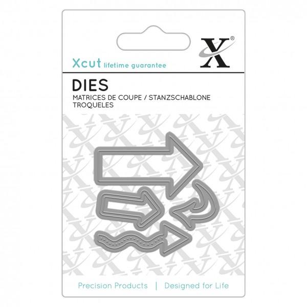 XCut Stanzform Pfeile / Arrows XCU 504084