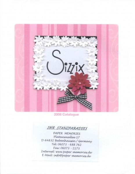 Katalog Sizzix 2008