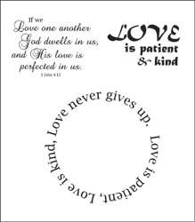 Heartfelt Creations Stempel Agape Love HCPC3308