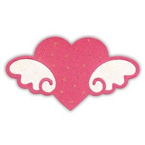 Sizzix Stanzform BIGZ Hello Kitty Herz mit Flügel / heart w/ wings 655794