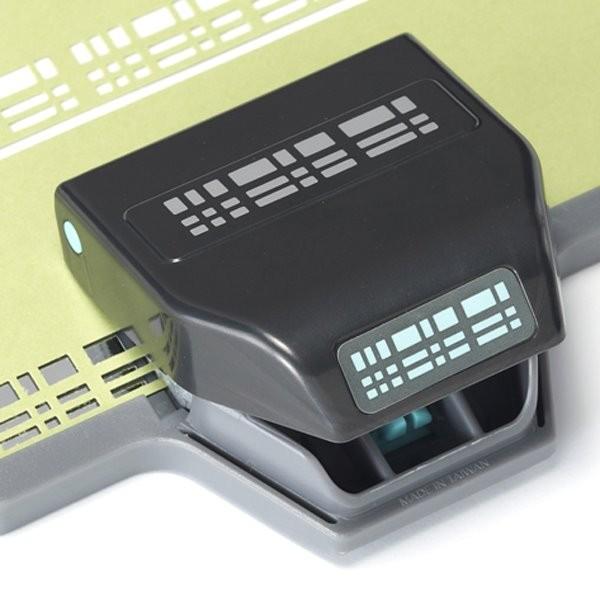 EK Success Slim-Borderstanzer Plaid 54-40089