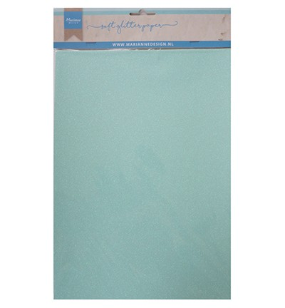 Marianne D Soft Glitter Papier A 4 MINT CA3147