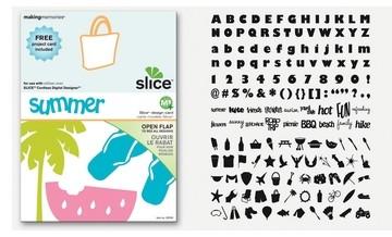 SLICE Design Karte Summer ( MS + ) 33745