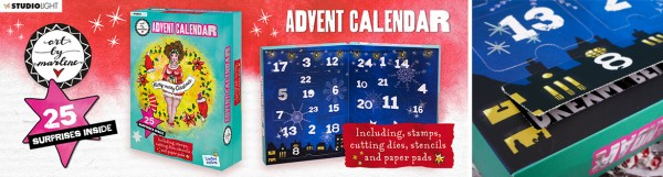 Studio Light Adventskalender 2021 / Advent Calendar ES-AC01 - LIMITIERT - Lieferung Okt. / Nov. 2021