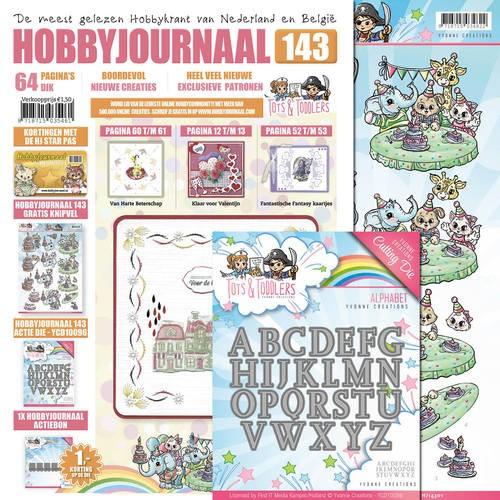 Find it Trading Set Hobbyjournaal 132 u. Stanzform Alphabet YCD10096 SETHJ143