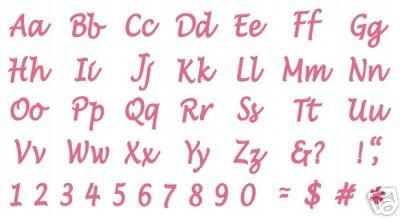 Marisa Classic Alphabet complete Marisa-C