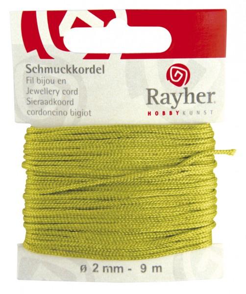 Schmuckkordel 2 mm HELL - GRÜN 89-569-11