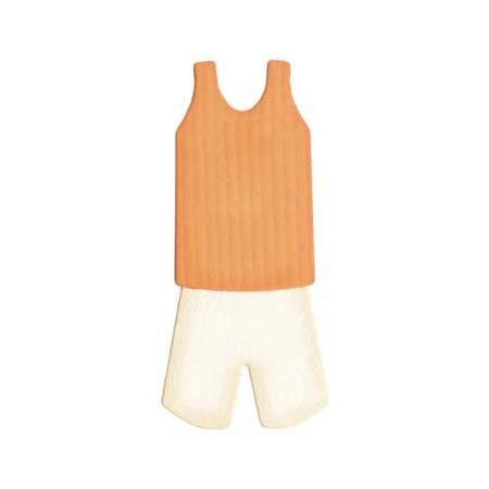 Quickutz Stanzform Basketball-Outfit / basketball KS-0463