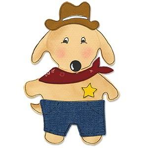 Sizzix Stanzform BIGZ Tierkörper Hund / animal dress ups puppy 655444